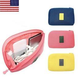 Travel Makeup Bag Storage Wallet Earphone Charger Bag Best P