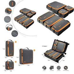BAGSMART Travel Packing Cubes 3 Sizes Portable Luggage Organ