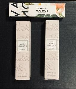 Avon Travel Size Parfume 2 Rare Pearl And 1 Honey  Bloosom
