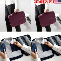 Travel Storage Bag Set for Clothes Tie  Luggage Packing Cube