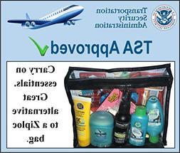 TSA Approved Women's Toiletry Kit 62 PC | Popular Brand Name