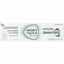 2 Tubes Sensodyne ProNamel Strong Bright Toothpaste Extra Fr