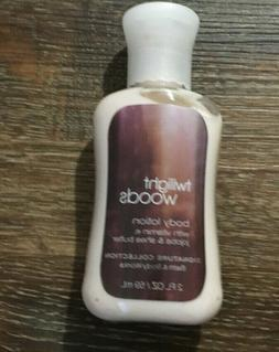 Twilight Woods Body Lotion Bath & Body Works Travel Size 2oz