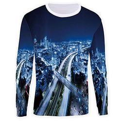 MOOCOM Unisex Crew Travel Decor Crewneck Sweatshirt Pullover