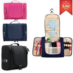 US Toiletry Hanging Bag Travel Cosmetic Large Essentials Org