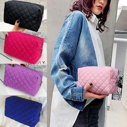 US-Travel Cosmetic Makeup Bag Portable Toiletry Case Pouch O