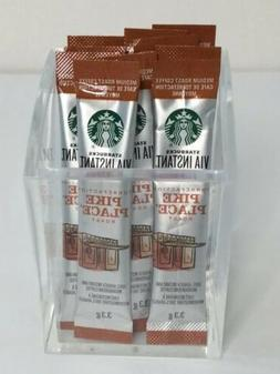 Starbucks Via Instant Pike Place Roast 3.3g Coffee Travel Si