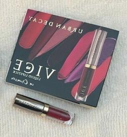 Urban Decay Vice Liquid Lipstick, Crimson, Travel Size, NIB