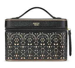 Victoria's Secret Black Train Case & Beauty Gift Set Bombshe