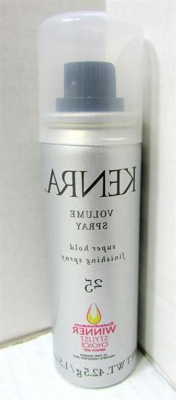 Kenra Volume/Finishing Spray #25, 55% VOC, 1.5-Ounce
