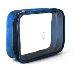 Wanderwind Premium SMALL TSA Approved Clear Durable Toiletry
