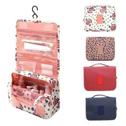 Waterproof Hanging Toiletry Bag Travel Cosmetic Kit Large Es
