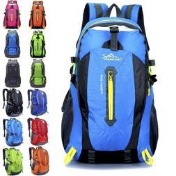 Waterproof Outdoor Hiking Camping Travel Backpack Daypack Ru