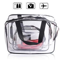Waterproof Plastic Travel Toiletry Organizer Cases Bag