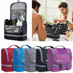 Waterproof Travel Toiletry Bag Bathroom Shower Bags with Han