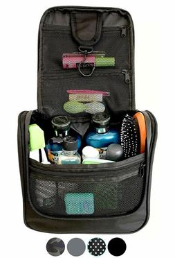 Wayfarer Supply Hanging Toiletry Bag: Pack-It-Flat Travel Ki