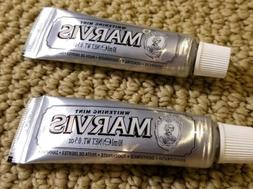 Marvis Whitening Mint Toothpaste travel size .50 oz - Lot of