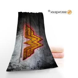 wonder woman logo towels microfiber bath towels
