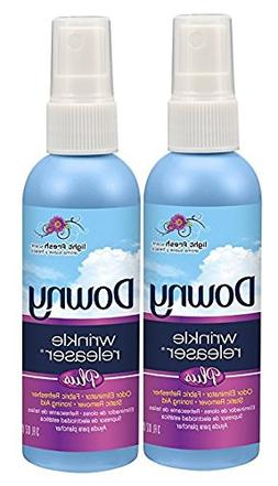 Downy Wrinkle Releaser Plus Light Fresh Scent, Travel Size,